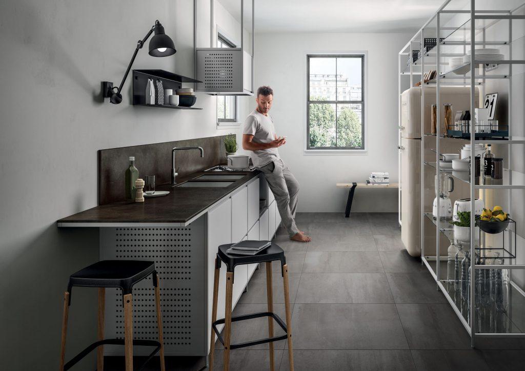 Nace not enStone, the Italian brand of porcelain tile counter tops