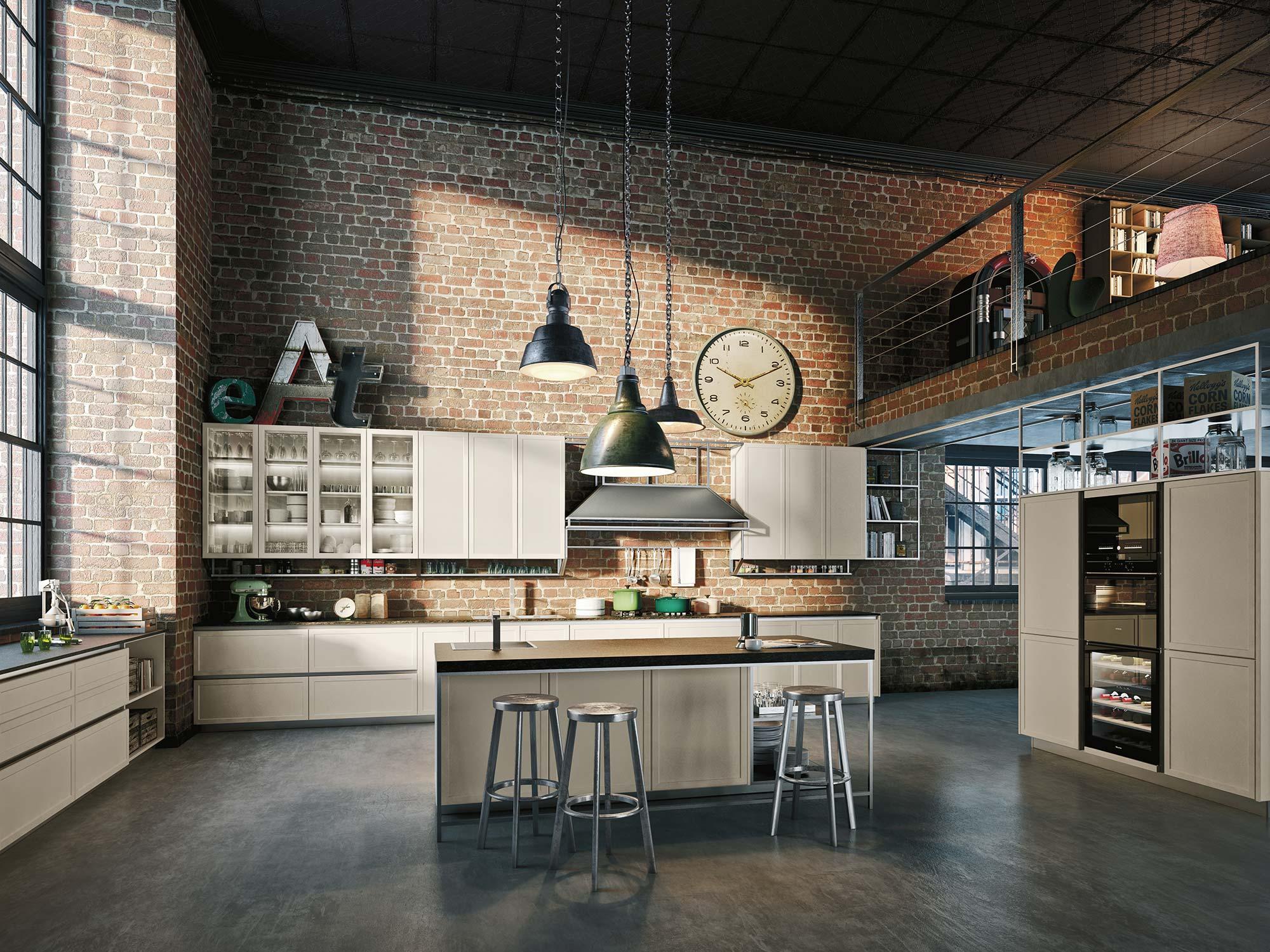 Todo a punto para espacio cocina sici espacio cocina - Amueblamiento de cocinas ...