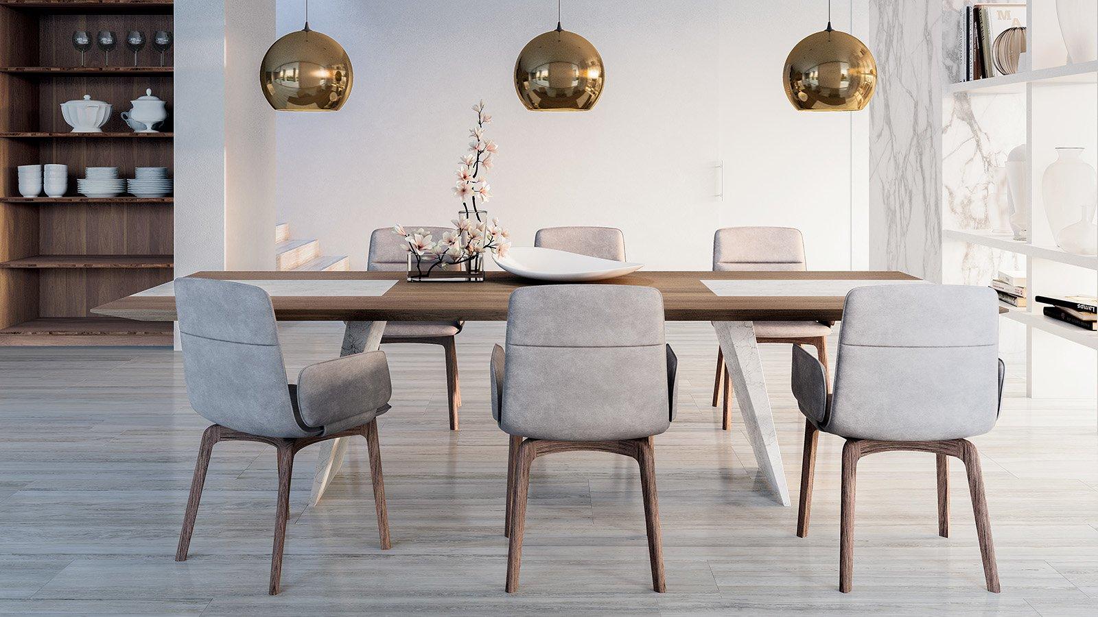 Mesas, sillas y taburetes. Cada vez más importantes en la cocina ...